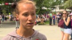 Video «Viktorija Golubic vor den French Open» abspielen
