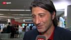 Video «FUSSBALL: Basel am Tag nach dem Spiel in Tel Aviv» abspielen