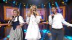 Video «Miss Helvetia & Linda Fäh & Yvann mit einem CH-Schlager Medley» abspielen