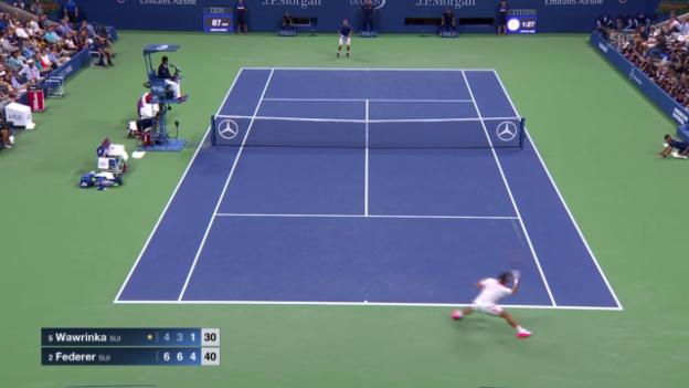 Video «Toller Punkt Federer» abspielen