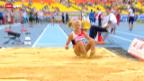 Video «Leichtathletik-WM: Siebenkampf der Frauen» abspielen