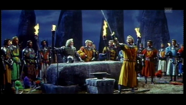 Video «Filmschatz: Knights of the Round Table (1953)» abspielen
