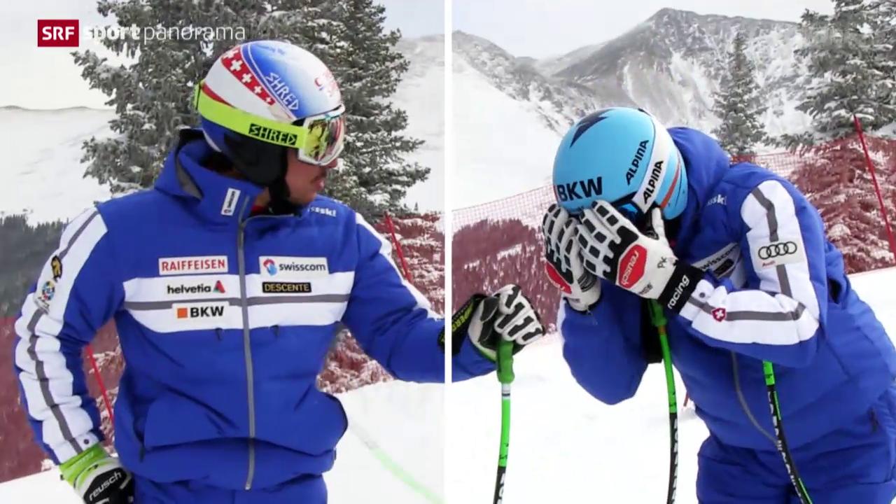 Ski: Carlo Janka und Patrick Küng vor dem Speed-Saisonstart