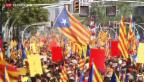 Video «Auch Katalonien will über Unabhängigkeit entscheiden» abspielen