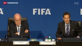 Video «Doch neuer Präsident für FIFA» abspielen