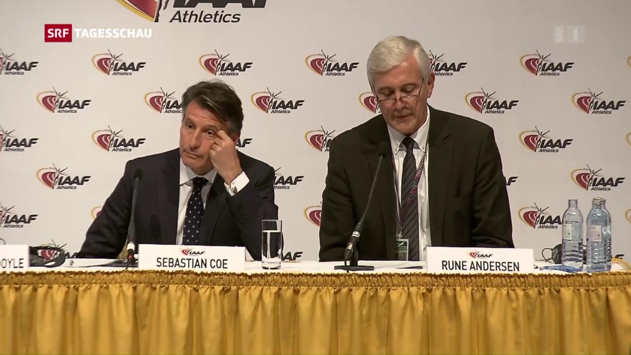 IAAF sperrt russische Sportler