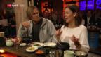 Video «Ueli und Melanie probieren das Ginseng-Huhn» abspielen