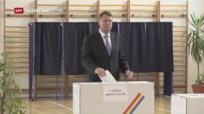 Video «Wahlen in Rumänien» abspielen