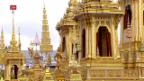 Video «Thailand steht still zu Ehren Bhumibols» abspielen