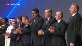 Video «Putin und Erdogan wollen Energie-Kooperation vorantreiben» abspielen