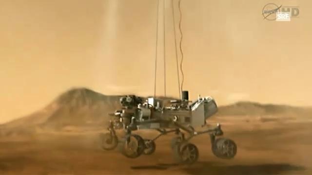Curiosity entdeckt den Mars