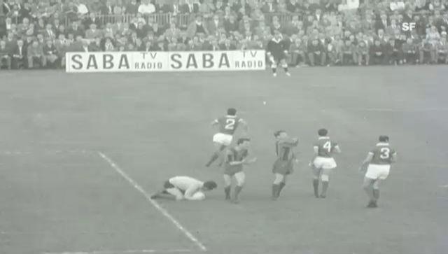 1961: Benfica - Barcelona im Berner Wankdorf