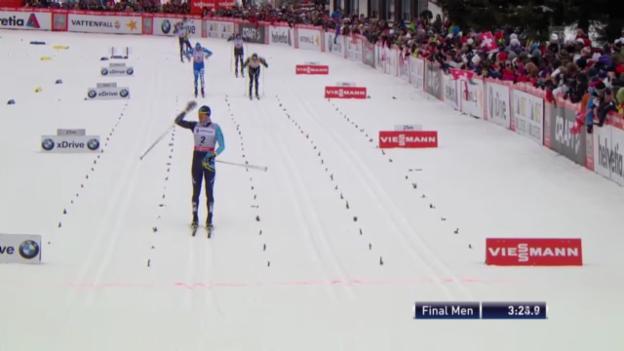 Video «Langlauf: Sprint-Final Männer» abspielen