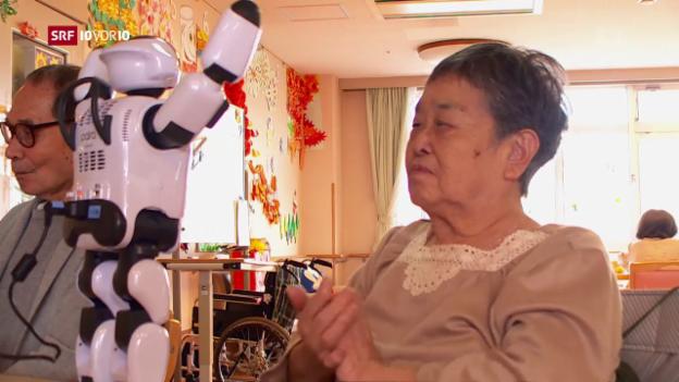 Video ««Die Idee»: Die technisierte Zukunft der Pflege» abspielen