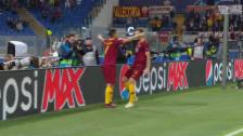 Link öffnet eine Lightbox. Video Roma siegt dank Edin Dzeko abspielen