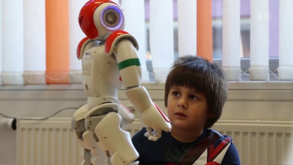 Roboter verbessert Kommunikation
