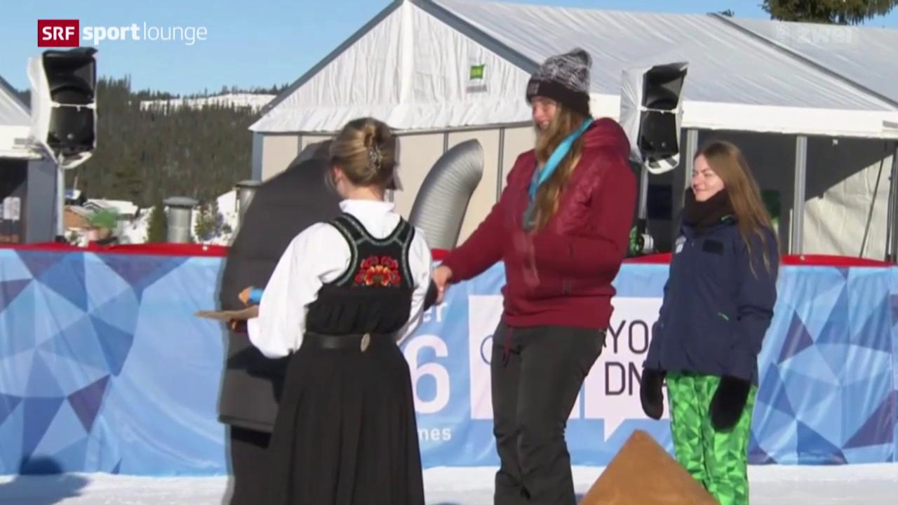 Zweimal Edelmetall für die Schweiz in Lillehammer