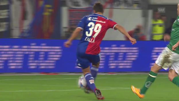 Video «Fussball: Davide Callas bisherige Saisontore» abspielen