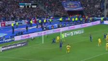 Video «Fussball: Das 3:0 Frankreichs gegen die Ukraine» abspielen