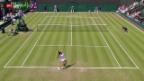 Video «Tennis: Wimbledon, Vögele - Keys» abspielen