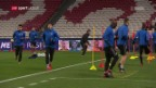 Video «Basel vor der CL-Partie bei Benfica Lissabon» abspielen