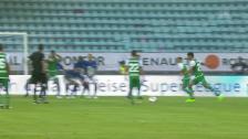 Link öffnet eine Lightbox. Video Aleksics Traumfreistoss zum Saisonauftakt gegen Lausanne abspielen