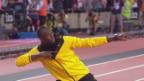 Video «Usain Bolt spielt Fussball für einen guten Zweck» abspielen