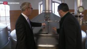 Video «Sinkender Konsum von Schweizer Bier» abspielen