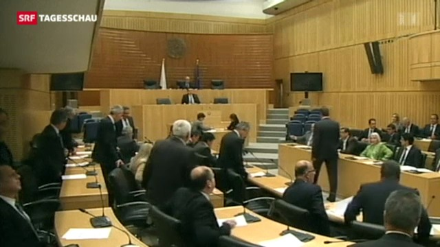 Zypern lehnt Sparpaket aus Brüssel ab
