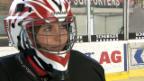 Video «Annina Frey in Eishockeymontur» abspielen