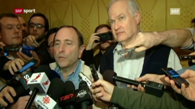 Video «NHL-Lockout ist zu Ende» abspielen
