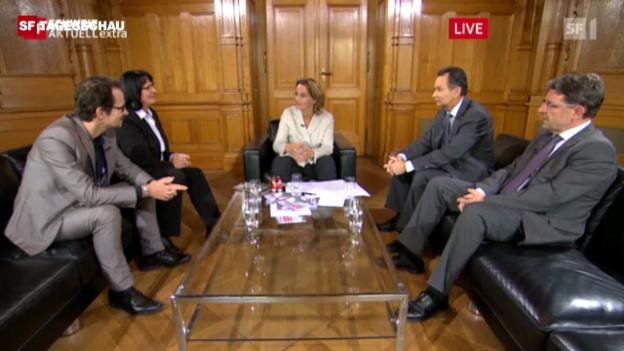 Video «Diskussionsrunde Asyl-Politik» abspielen