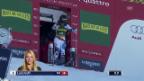 Video «Ski Alpin: Riesenslalom Aspen, 1. Lauf Lara Gut» abspielen