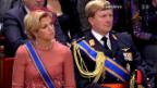 Video «Thronwechsel in den Niederlanden: Das offizielle Programm» abspielen