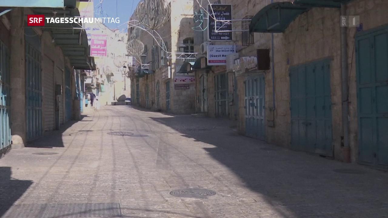Palästinenser beginnen dreitägigen Streik