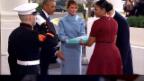 Video «Michelle Obama lüftet das Geschenk-Geheimnis» abspielen