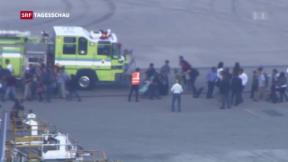Video «Schüsse am Flughafen in Florida» abspielen
