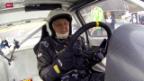 Video «Automobilsport: Fritz Erb - der Oldie am Bergrennen Oberhallau» abspielen