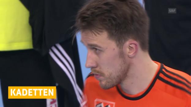 Video «Handball: Kadetten verpassen CL-Achtelfinals («sportaktuell, 21.02.2015»)» abspielen
