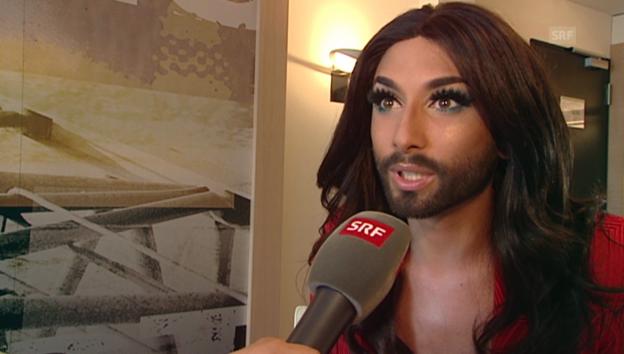 Video «Conchita Wurst über ihr neues Leben» abspielen