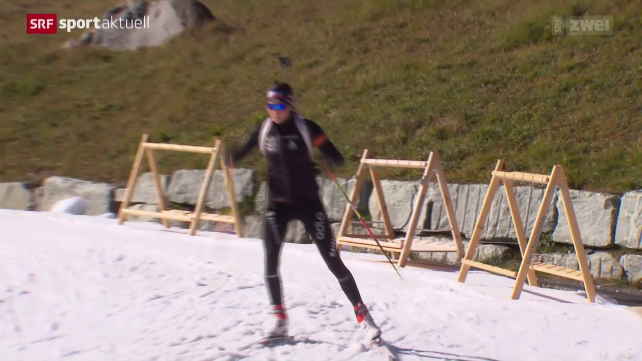 Biathlon: Trainingscamp in Lenzerheide