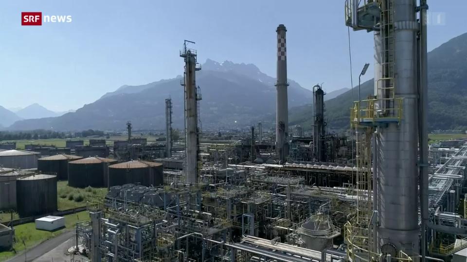 Der Rückbau der Tamoil-Erdölraffinerie startet