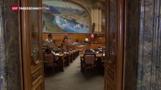 Video «Start der Frühjahrssession in Bern» abspielen