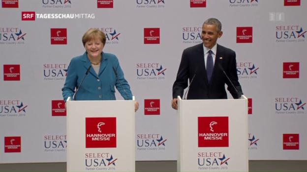 Video «Obama und Merkel» abspielen
