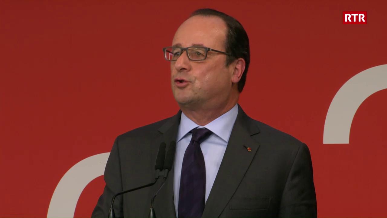 (franzos) Il pled dal president da la Frantscha François Hollande