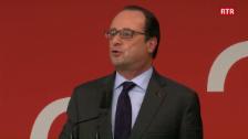 Laschar ir video «(franzos) Il pled dal president da la Frantscha François Hollande»