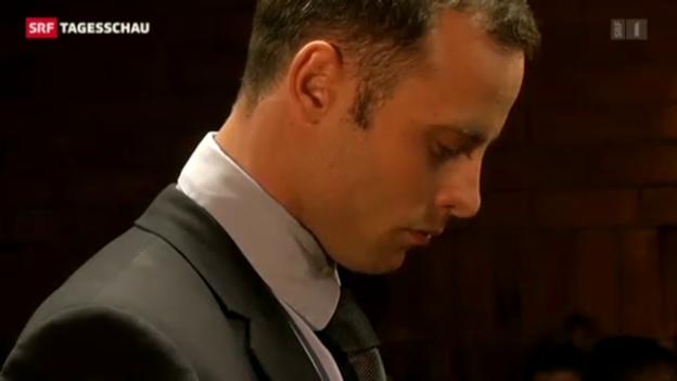 Video «Pistorius auf Kaution frei» abspielen