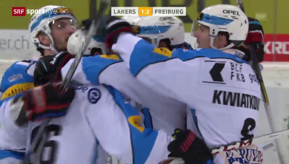 Eishockey: NLA, Lakers - Freiburg