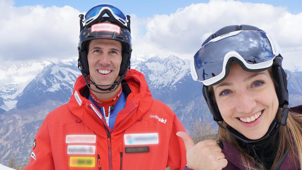 Skirennen gegen Slalommeister Ramon Zenhäusern (Staffel 5, Folge 3)
