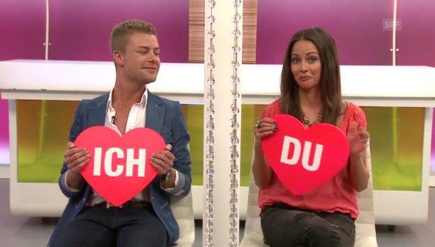 Video ««Ich oder Du»: Nadine Vinzens und Thomas Hossmann» abspielen